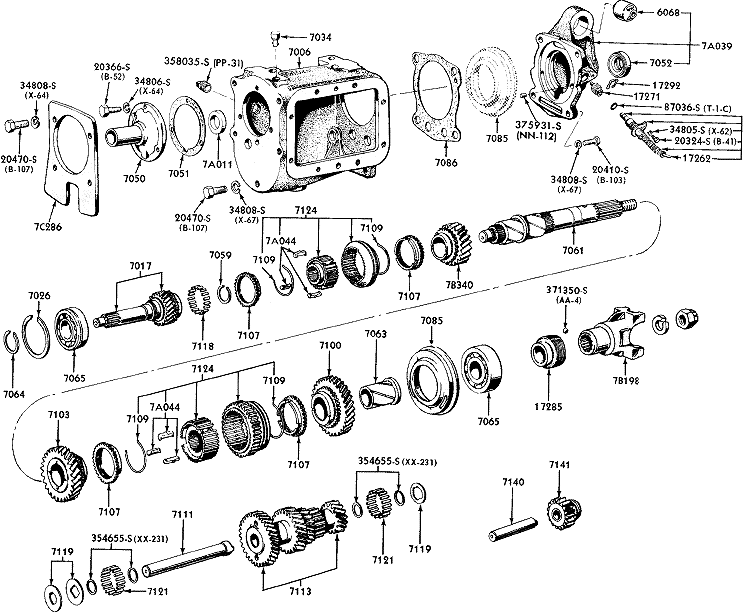 c4 transmission diagram
